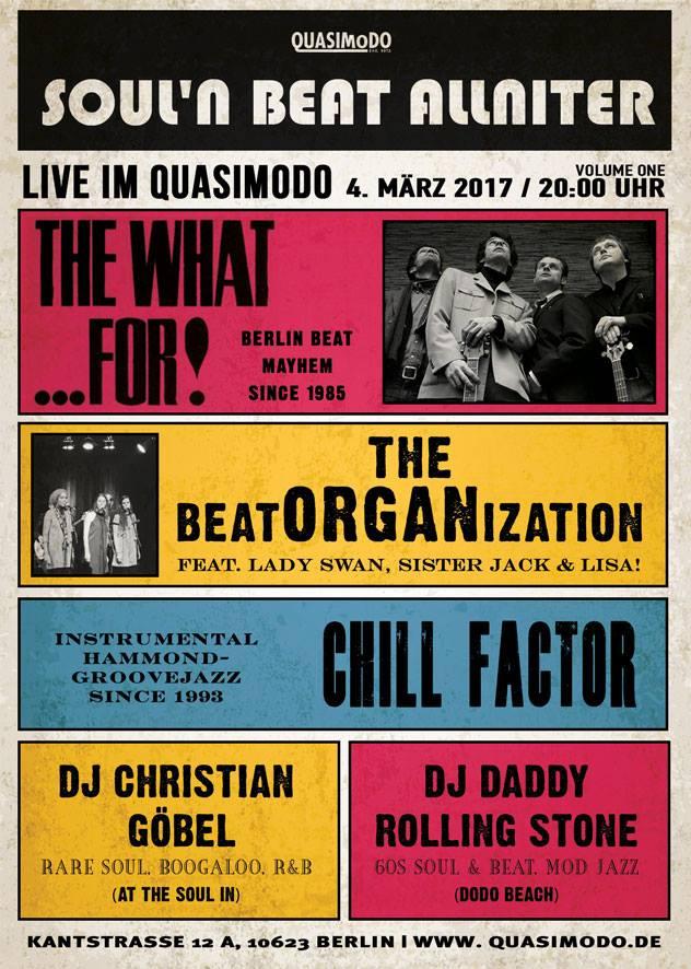 Berlin Soul'n Beat Allniter