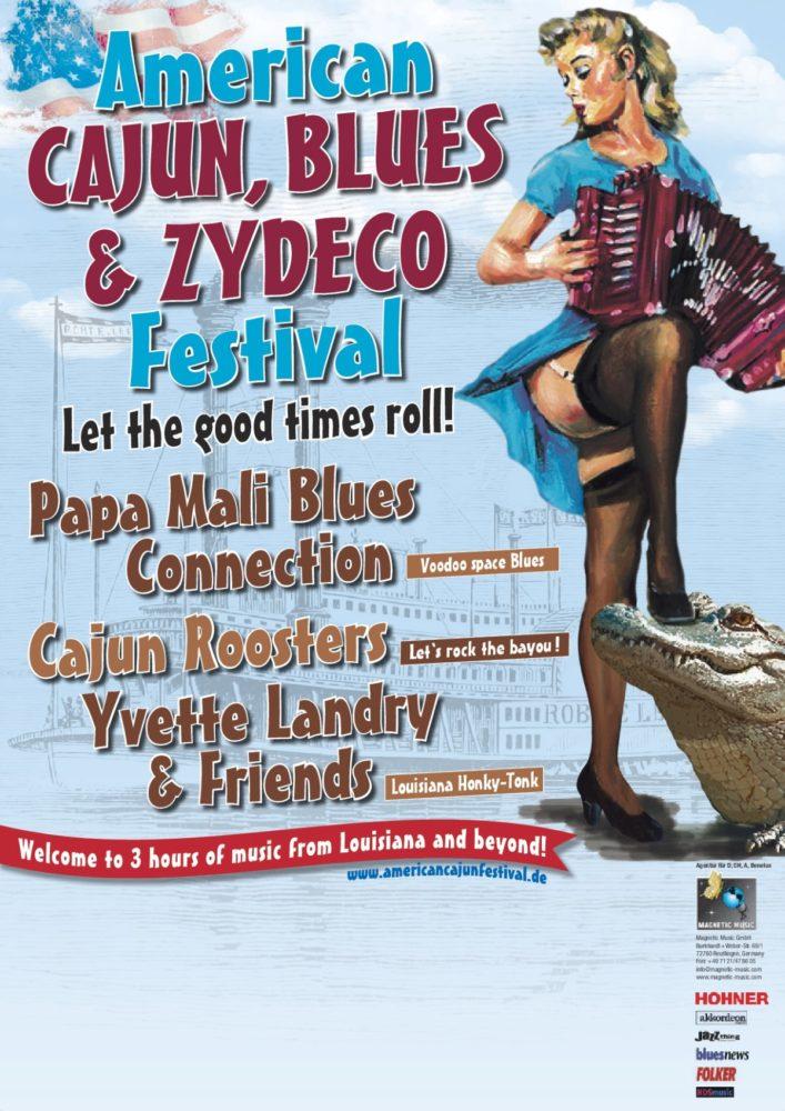 American Cajun, Blues & Zydeco Festival 2017