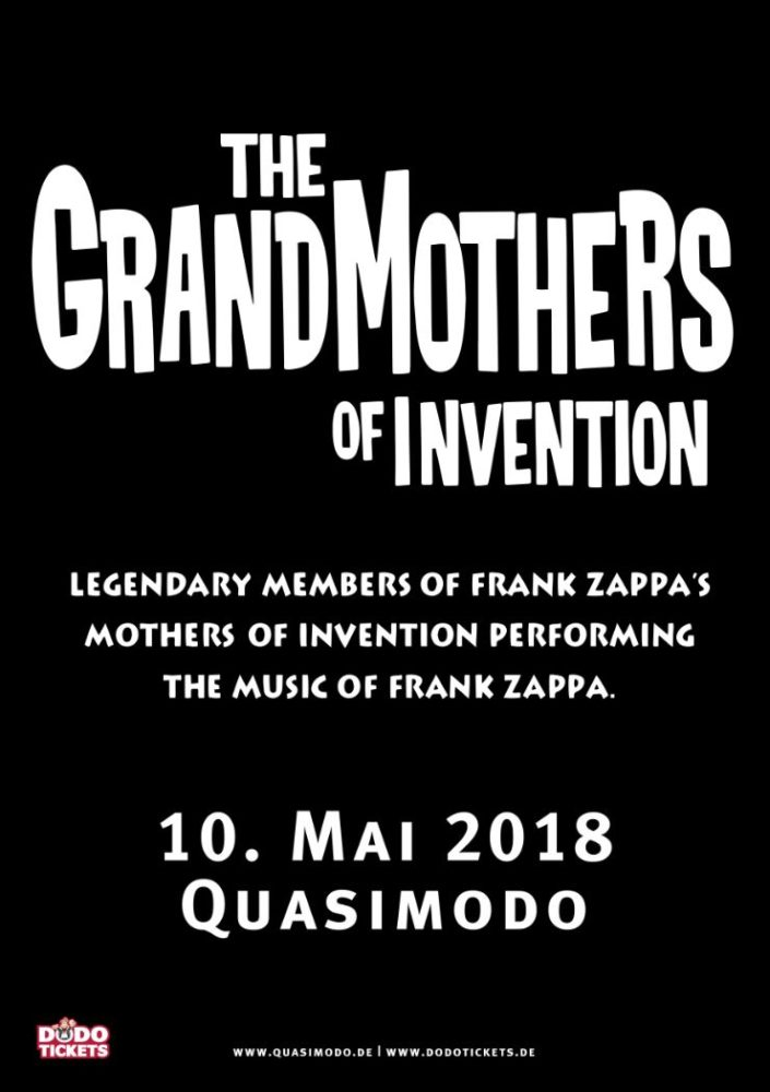 The Grand Mothers Of Invention